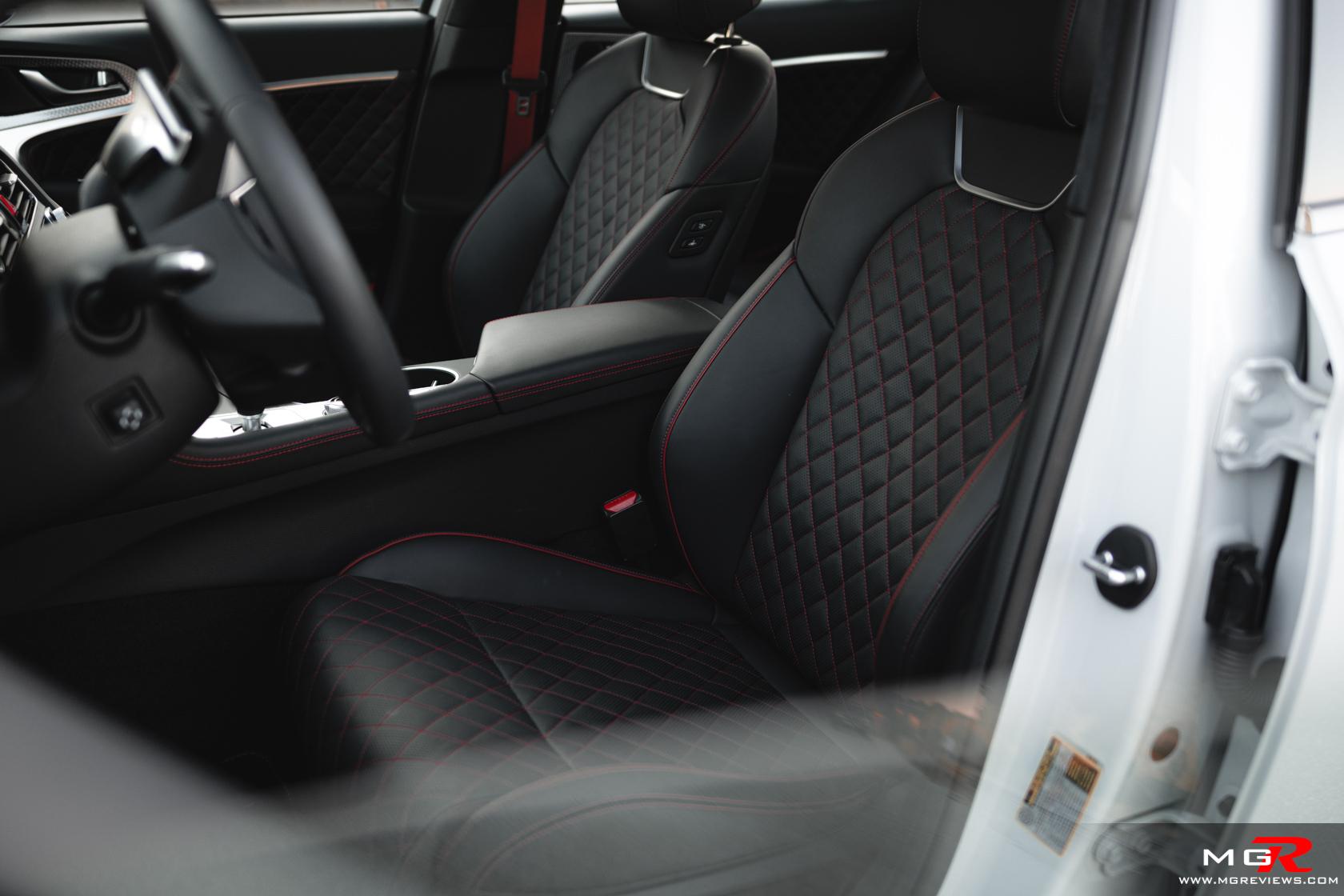 2022 Genesis G70 Interior