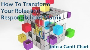 Transform Your Roles And Responsibility Matrix Into A Gantt Chart