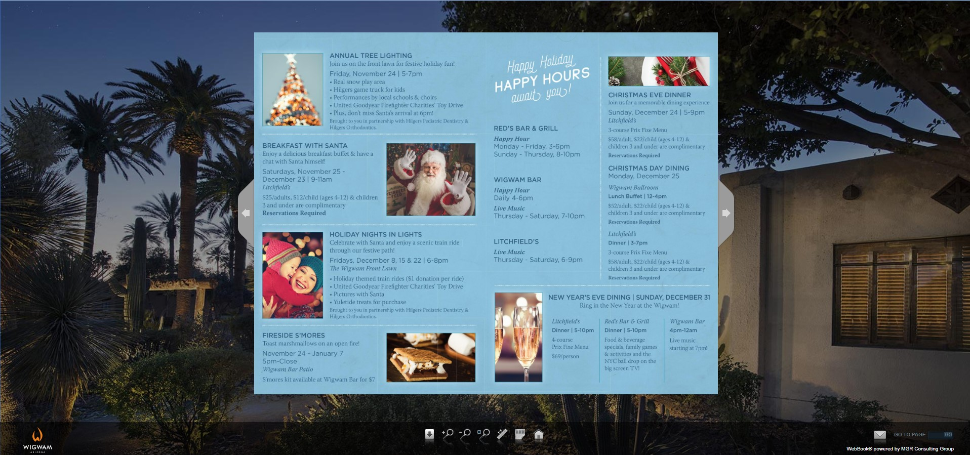 Wigwam Holiday Brochure