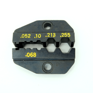 RG-58 & RG-59 Interchangeable Die for standard ratcheting crimper tools P/N: 7505-DIE-8X - Max-Gain Systems, Inc.