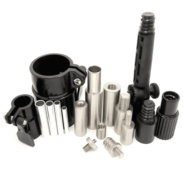 Fiberglass Tube and Rod Accessories. Extensions, Couplings, Ferrules, Clamps, Clips, and MORE