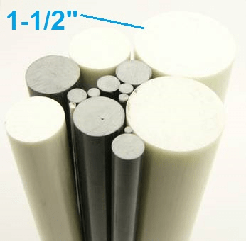 "1-1/2"" OD Round Solid Rod"