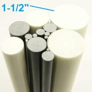 "1-1/2"" OD Round Solid Rod"