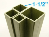 "1-1/2"" On-Side Square Tube"