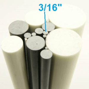 "3/16"" OD Round Solid Rod"