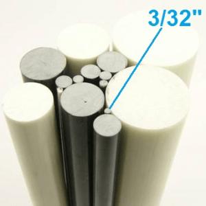 "3/32"" OD Round Solid Rod"