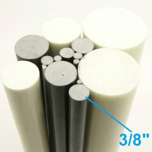 "3/8"" OD Round Solid Rod"