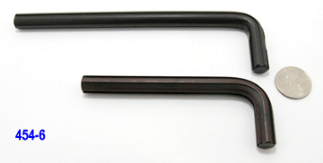 "0.454"", 6-flute Spline tools"