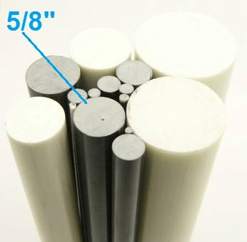 "5/8"" OD Round Solid Rod"