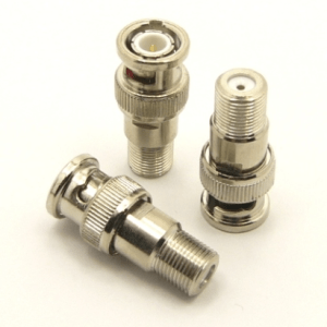 BNC-male / F-female Adapter (P/N: 7050)