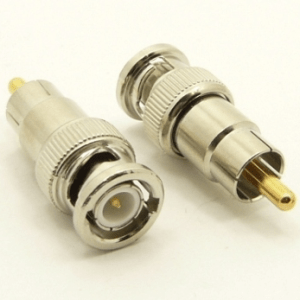 BNC-male / RCA-male Adapter (P/N: 7055)
