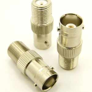 BNC-female / F-female Adapter (P/N: 7066)