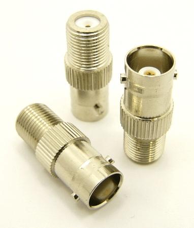 BNC-female / F-female Adapter (P/N: 7066)