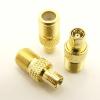 F-female / SMB-male Adapter (P/N: 7242)