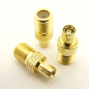 F-female / SMB-male Adapter (P/N: 7242)