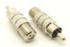 RCA-male / F-female Adapter (P/N: 7260)