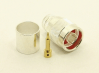 N-male, Cable end, crimp-on, silver plated brass, Teflon Dielectric, gold pin, for LMR-600 coaxial cable (P/N: 7305-600)