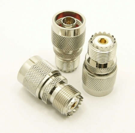 UHF-female / N-male Adapter (P/N: 7330)