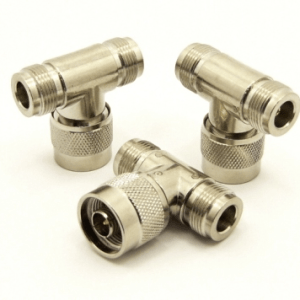 N-female / N-male / N-female Adapter, Tee (P/N: 7339-T)