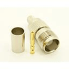 TNC-female, cable end, crimp-on for RG-223 RG-59 LMR-240 and RG-8X mini 8 (P/N: 7406-8X)