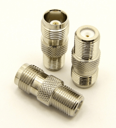 F-female / TNC-female Adapter (P/N: 7461)