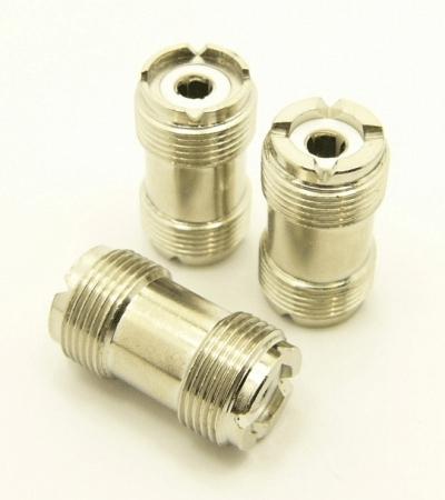 UHF-female / UHF-female (UHF barrel) 4-point (P/N: 7517)