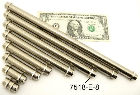 """UHF-Female / UHF-Female (8"""" bulkhead) (P/N: 7518-UHF-E-8)"""