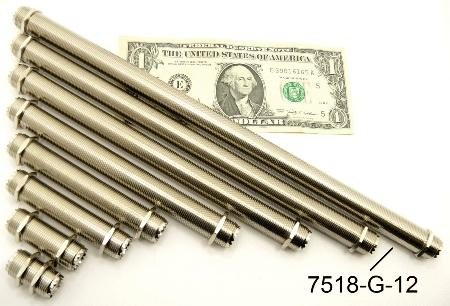 """UHF-Female / UHF-Female (12"""" bulkhead) (P/N: 7518-UHF-G-12)"""