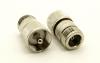 N-female / UHF-male Adapter (P/N: 7521)