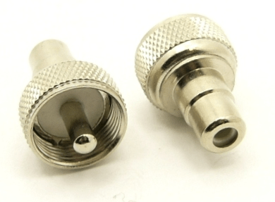 UHF-male / RCA-female Adapter (P/N: 7522)