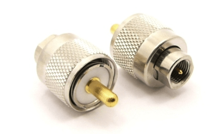 UHF-male / FME-male Adapter (P/N: 7591)