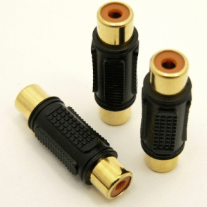 RCA-female / RCA-female Adapter (P/N: 7717)