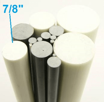 "7/8"" OD Round Solid Rod"