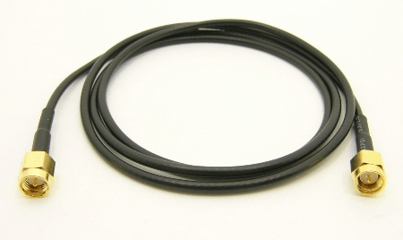 SMA-male / SMA-male with 36 inches of RG-174 coax TGG (P/N: 7816-CBL-36)