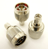 N-male / SMA-male Adapter (P/N: 7823)
