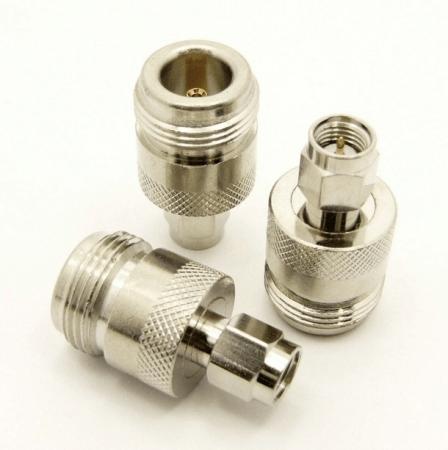 N-female / SMA-male Adapter (P/N: 7824)