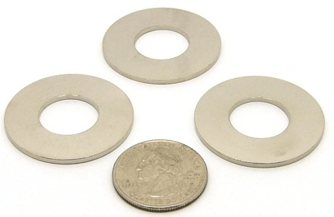 Large Washer for UHF and Type N connectors, bulkhead, fender washer (P/N: 9935-WASHER)