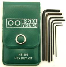 HS-206 - Bristol Hex L-Key Kit
