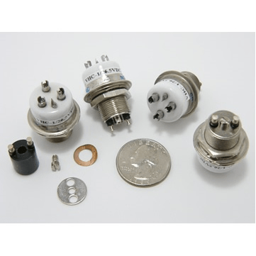 3.5 kV, 5 kV Peak, SPDT, 25 Amps, VHC-1 SPDT Ceramic Vacuum Relay - Max-Gain Systems, Inc.