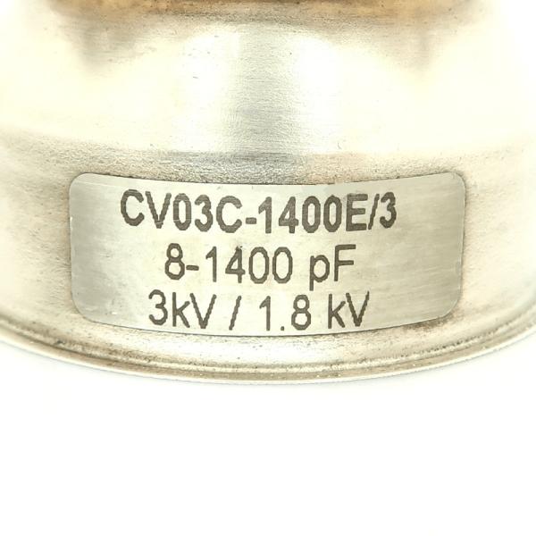Comet CV03C-1400E3 Label Max-Gain Systems, Inc. www.mgs4u.com