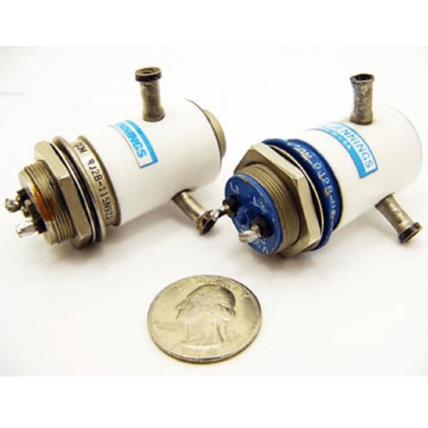 12 kV, 15 kV Peak, SPDT, 50 Amps, Jennings RJ2B-115N922 Vacuum Relay - Max-Gain Systems, Inc.
