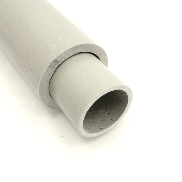 RT-2-QTR 2 inch OD, 1.5 inch ID, 0.25 inch WALL Round Fiberglass Tube accepts our RT-112 1.5 inch OD, 1.25 inch ID, 0.125 inch WALL Round Fiberglass Tube