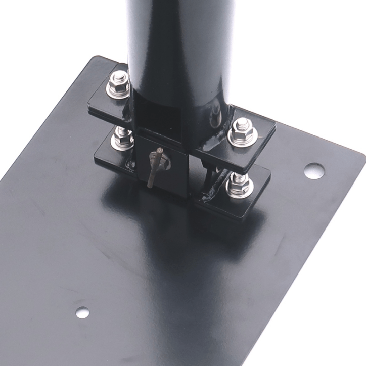 Drive-On Mast Mount with tilt and support tube assembled in the proper orientation - Max-Gain Systems, Inc.