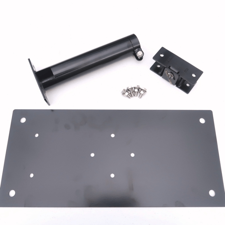 M-D2STDT-K Drive-On Base Plate 2 inch Support Tube with Tilt Mechanism - Max-Gain Systems, Inc.
