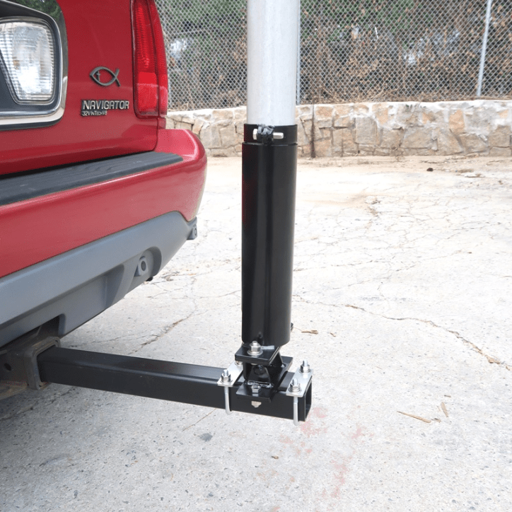 Support Tube installed onto Hitch Bar with Tilt Mechanism Correctly - Max-Gain Systems, Inc.