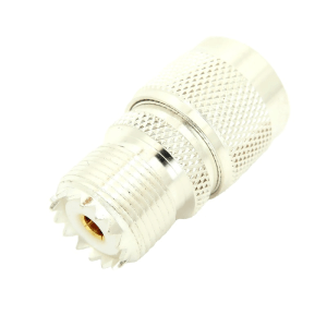 7330-TGS UHF female to N male Adapter - Max-Gain Systems, Inc.