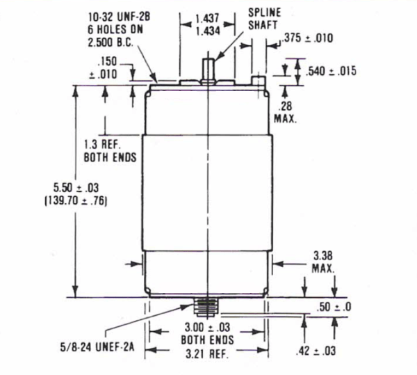 Comet CVZV-4000BC5-BCF Drawing - Max-Gain Systems, Inc.
