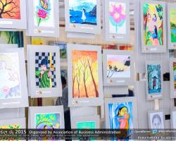 Department of Business Administration chala Ruu 2015 art exhibition (3)