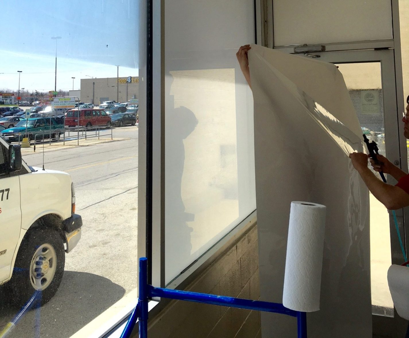 Client Wants Decorative Glass Films for Privacy at Business