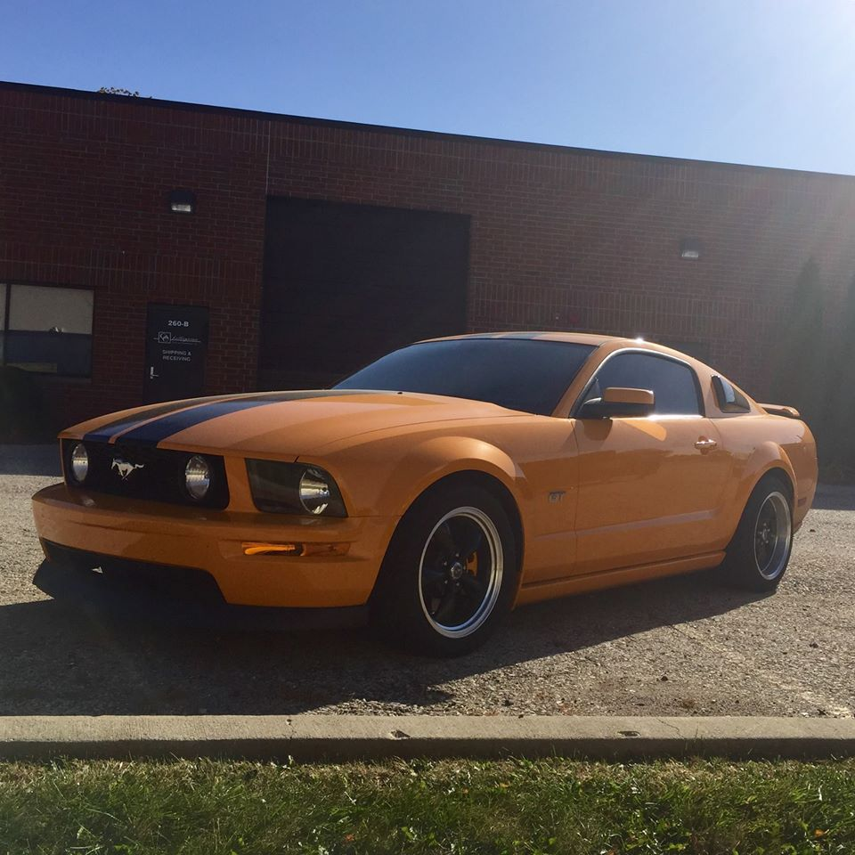 3M Auto Tint Gives This Ford Mustang the Royal Treatment